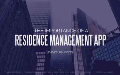 The Importance of a Residence Management App