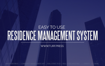 Easy to Use Residence Management System