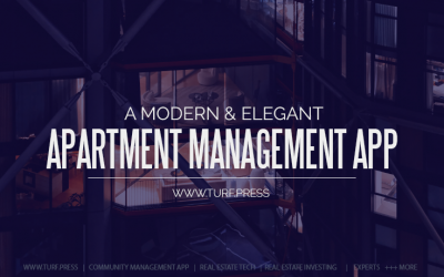 A Modern and Elegant Apartment Management App