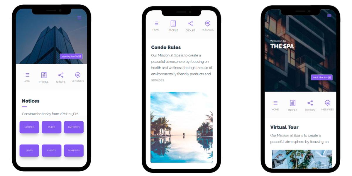 condo management app examples