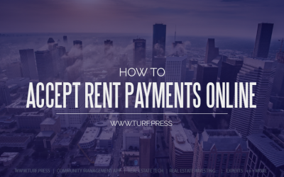 How to Accept Rent Payments and Building Fee Payments Online