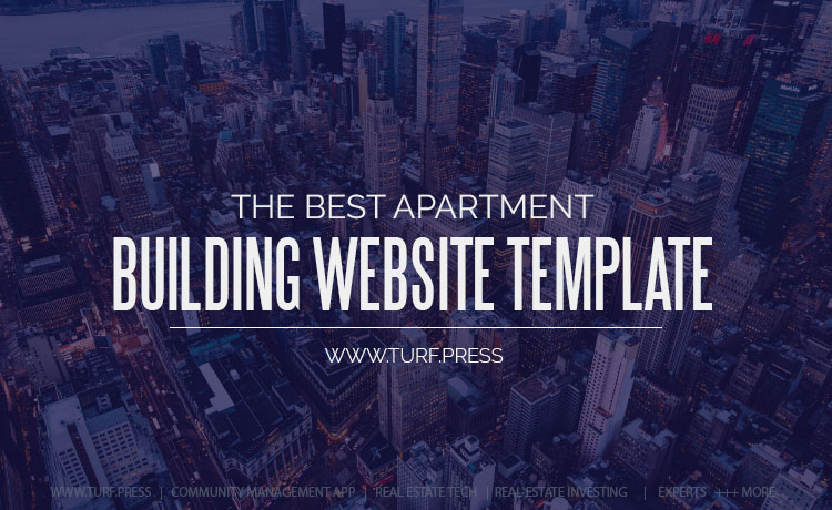 Apartment Building Website Template | Theme + Plugins