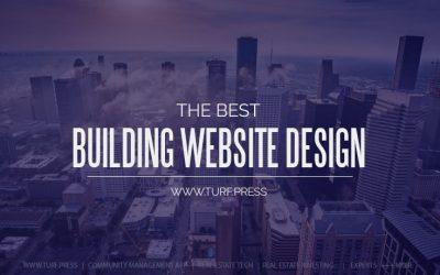 Apartment Building Website Design Template & Theme