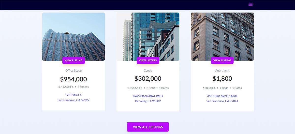 apartment building website