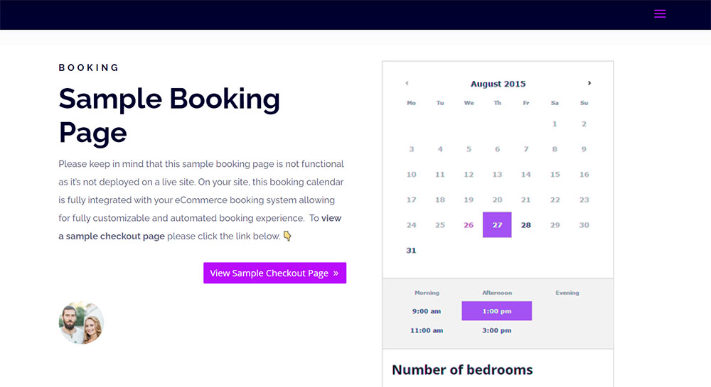 building amenity booking system