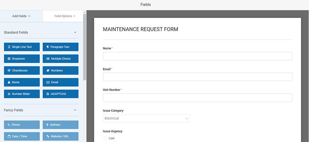 work request software