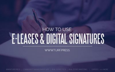 E-Leases: Online Lease Signing Software For Apartments