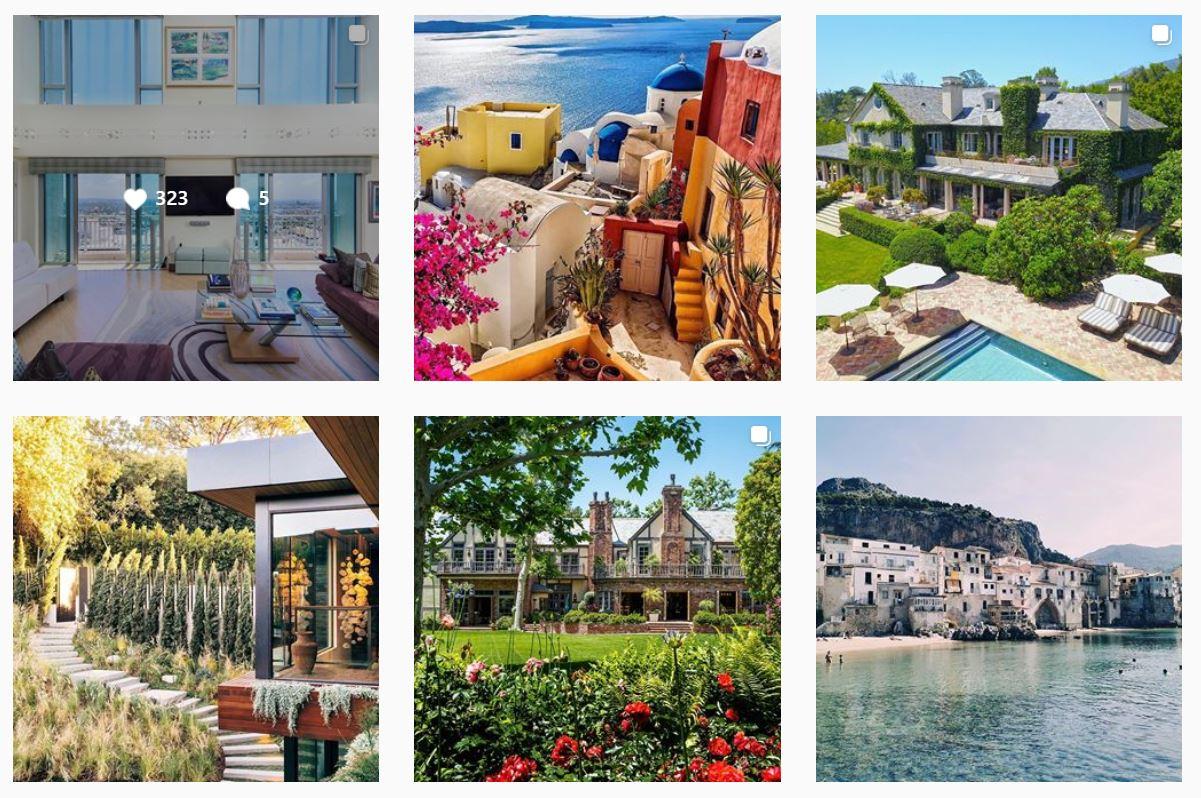 luxury real estate instagram