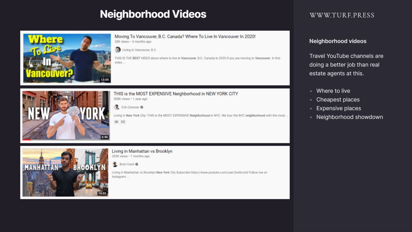 real estate video marketing examples